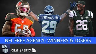 2019 NFL Free Agency: Winners & Losers Feat. Raiders, Browns, Packers, Titans, Cowboys & Bengals