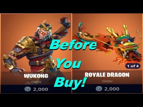 Wukong | Royale Dragon Glider! - Before You Buy - Fortnite Battle Royale