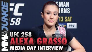 Alexa Grasso inspired by Brandon Moreno to win title for Mexico | UFC 258 interview