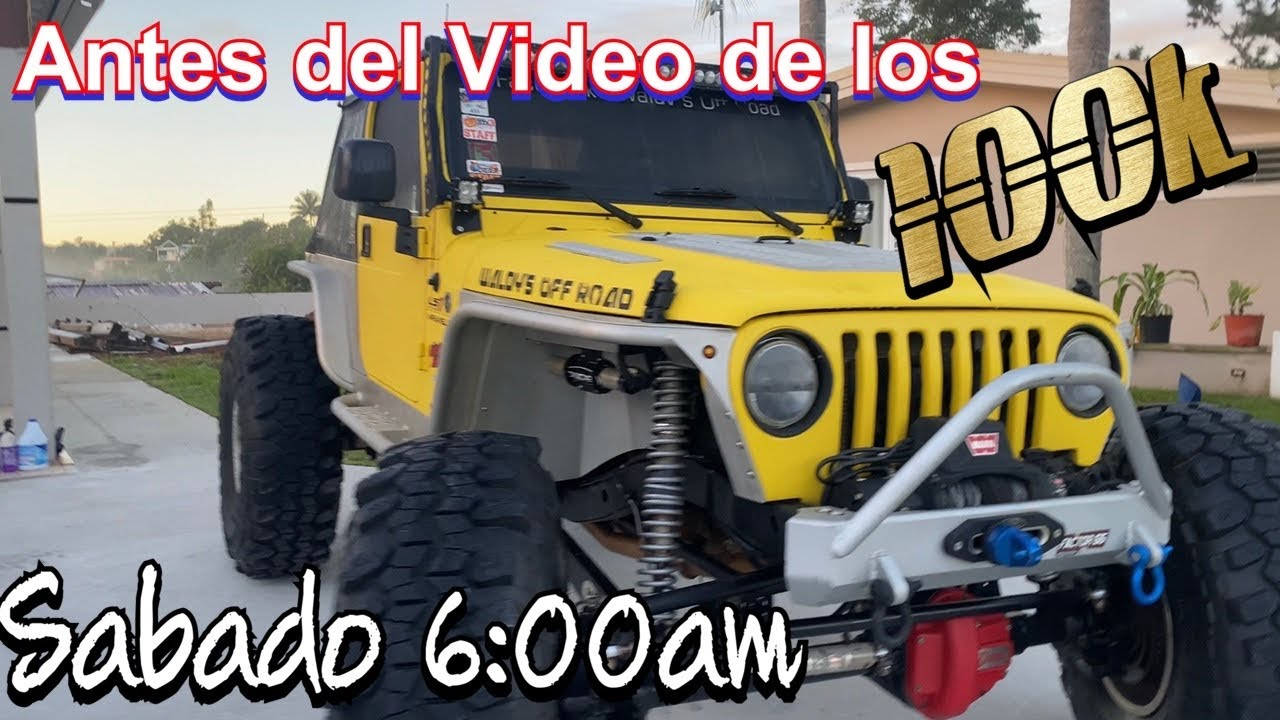 Antes del Video de los 100k by Waldys Off Road
