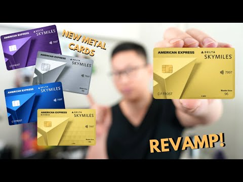 Amex Delta REVAMP: Up To 100,000 Bonus ( $1,200 In Value) | Metal Cards