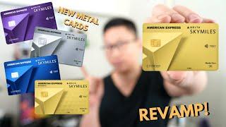 Amex Delta REVAMP: Up to 100,000 Bonus ( $1,200 in Value) | Metal Cards