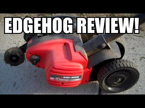 REVIEW: Black & Decker 2 in 1 Edge Hog Electric Edger
