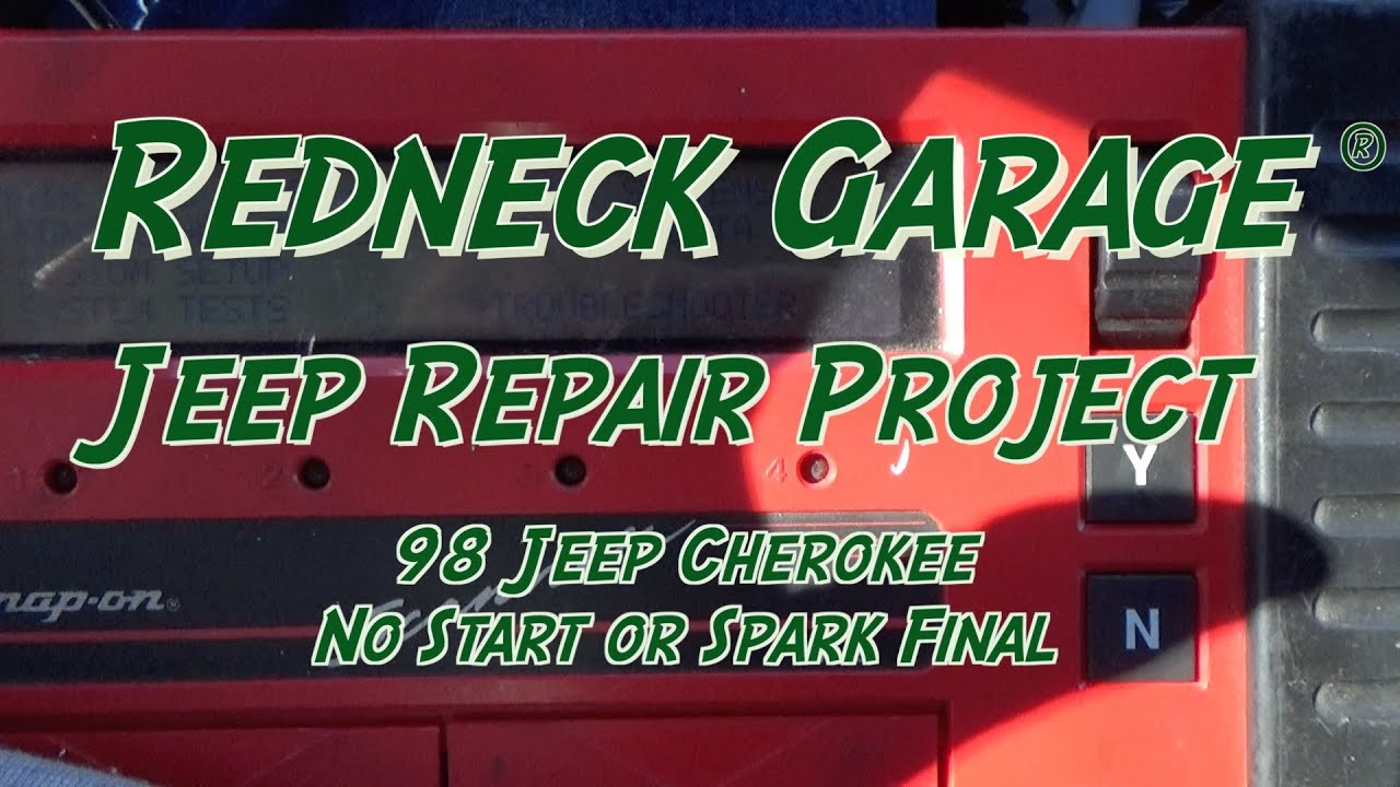 Jeep Cherokee Wrangler No Start Spark Repair Final Youtube 93 Fuse Diagram