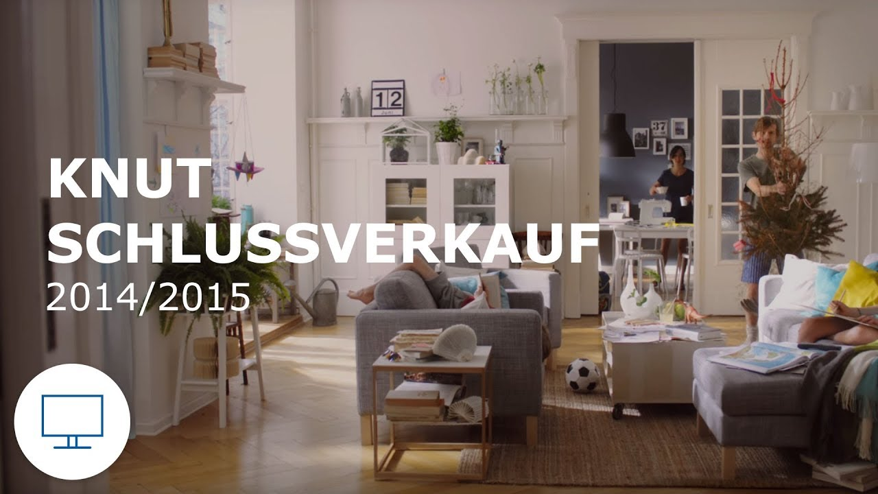 ikea werbung tv spot knut schlussverkauf 2014 2015 youtube. Black Bedroom Furniture Sets. Home Design Ideas