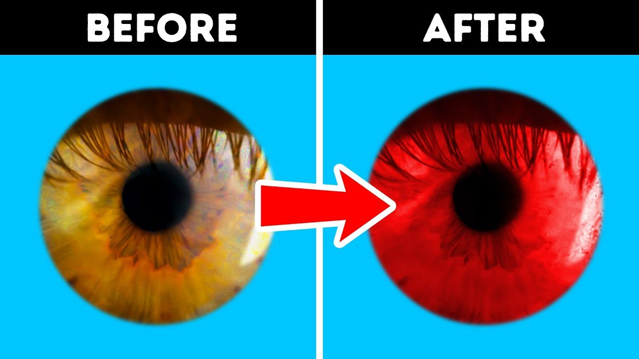 illusions optical eye change trick cool