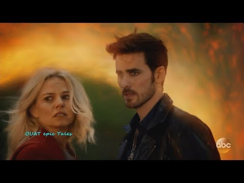 Once Upon A Time 7x02 Emma Hook Go Back - Regina Henry & Other Hook Left Behind  Season 7 Episode 2