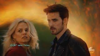 Once Upon A Time 7x02 Emma Hook Go Back - Regina Henry & Other Hook Left Behind  Season 7 Episode 2