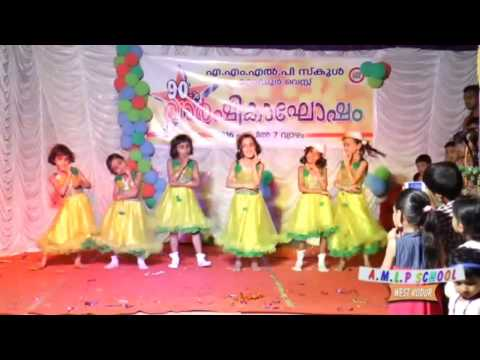 AMLP School West kodur-Anniversary programme-Group dance.