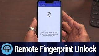 Remote Fingerprint Unlock for Android