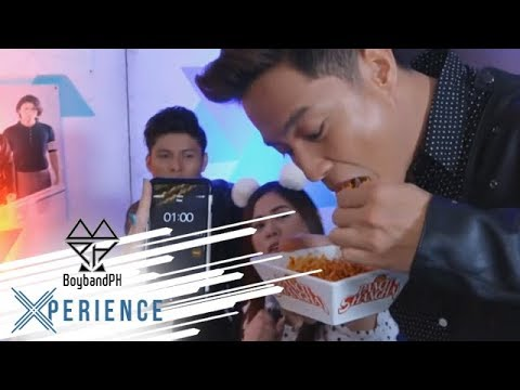 """#BoybandPHXPreAnniv: Ford fearlessly takes the """"Spicy Noodle"""" Challenge"""