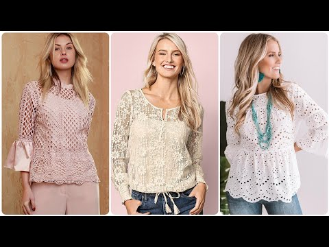 Most Beautiful  & Creative 40 Blouses Sleeves Designs For Girls