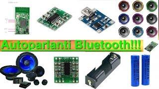 LAVORI PER TUTTI!!! Autoparlanti Bluetooth per Smartphone e PC.