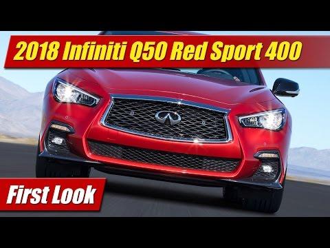 2018 Infiniti Q50 Red Sport 400: First Look
