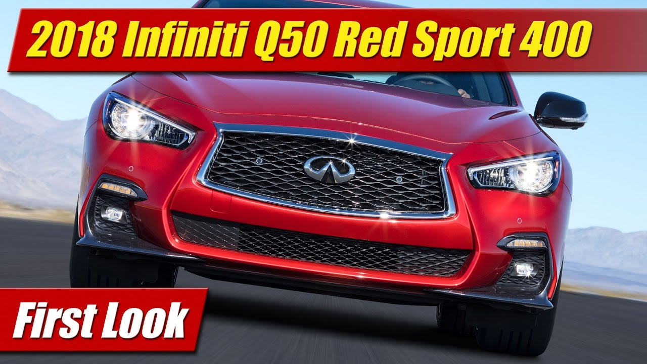 2018 infiniti g50.  g50 2018 infiniti q50 red sport 400 first look to infiniti g50 e