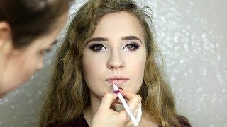 MAKIJAŻ NA MODELCE - ŚWIĄTECZNY/SYLWESTROWY/STUDNIÓWKOWY | Milena Makeup