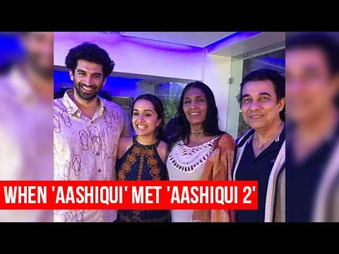 Aashiqui Star Anu Agarwal, Deepak Tijori Reunite With Shraddha Kapoor And Aditya Roy Kapur