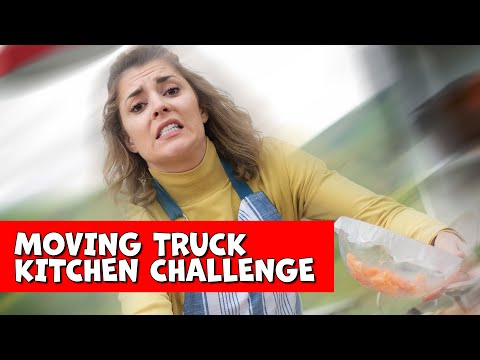 MAKING A POKE BOWL ON A MOVING TRUCK??? // Grace Helbig