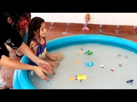 CARRERA ACUÁTICA: BALLENA AZUL, TORTUGA AMARILLA, SAPO VERDE  | Race | Reto | Challenge