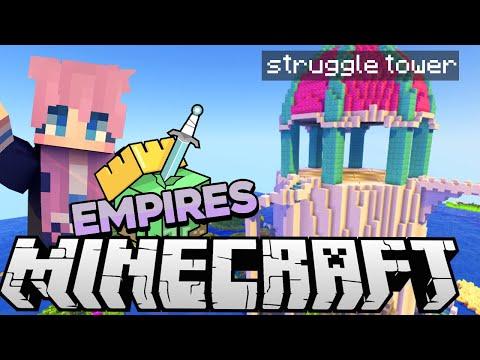 Big Struggle Tower   Ep. 6   Minecraft Empires 1.17