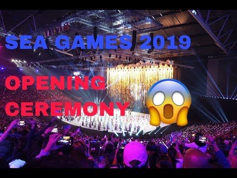 30th SEA GAMES 2019 OPENING CEREMONY AT PHILIPPINE ARENA