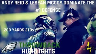 Andy Reid & LeSean McCoy Dominate the #1 Rush Defense | Throwback Highlights 10.30.2011