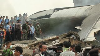 More Than 100 Die in a Deadly Plane Crash in Indonesia