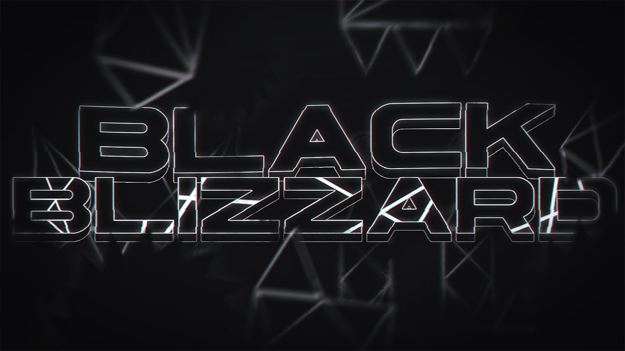 Black Blizzard (Extreme Demon) by KrmaL | Geometry Dash