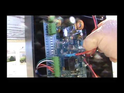 hqdefault automatic gate opener not working youtube mighty mule gate opener wiring diagram at gsmx.co