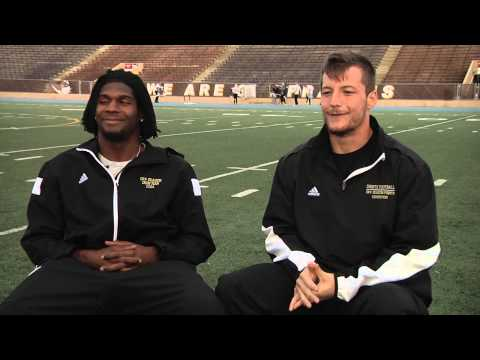 Meet University of St. Francis (USF) Football Players Eric Davis and Jesse Hogan