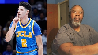 Dad Reacts to Lonzo Ball OFFICIAL Senior Year Mixtape | #1 PG In the NATION!