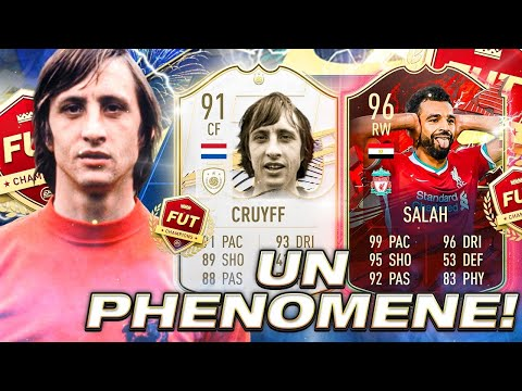 UN PHÉNOMÈNE!!! LES PREMIERS MATCHES FUT CHAMPIONS AVEC CRUYFF & BLANC ICON MOMENTS! FIFA 21 0€ #139