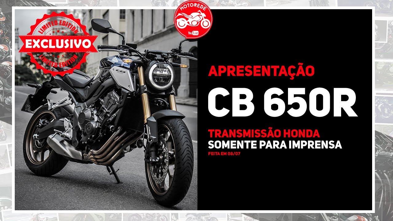NOVA CB 650R APRESENTAÇÃO COMPLETA OFICIAL HONDA + LINHA DO TEMPO CB FOUR NO BRASIL!