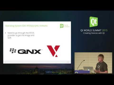 QtWS15- Qt for Device Creation, Andy Nichols, The Qt Company