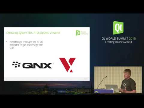 QtWS15- Qt for Device Creation, Andy Nichols, The Qt Company