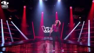 Juanita cantó 'Un pato' de Natalia Lafourcade  – LVK Colombia – Audiciones a ciegas – T1