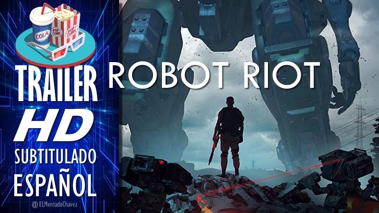 Download ROBOT RIOT (2020) 🎥 Tráiler En ESPAÑOL (Subtitulado) LATAM 🎬  Película, Ciencia Ficción, Acción