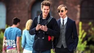 Andrew Garfield, Emma Stone and Dane DeHaan talk Amazing Spiderman 2