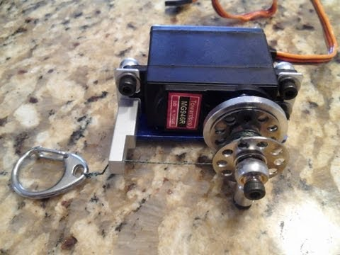 How to make a servo winch