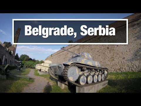 City Walks:  Belgrade, Serbia