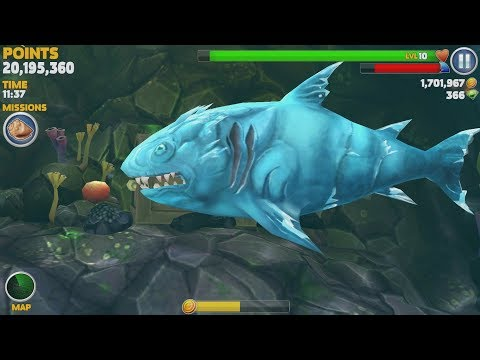 Hungry Shark Evolution Ice Shark Android Gameplay #40