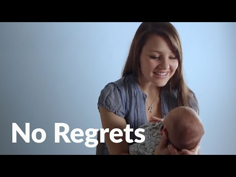 Pregnant at 16, she rejected abortion