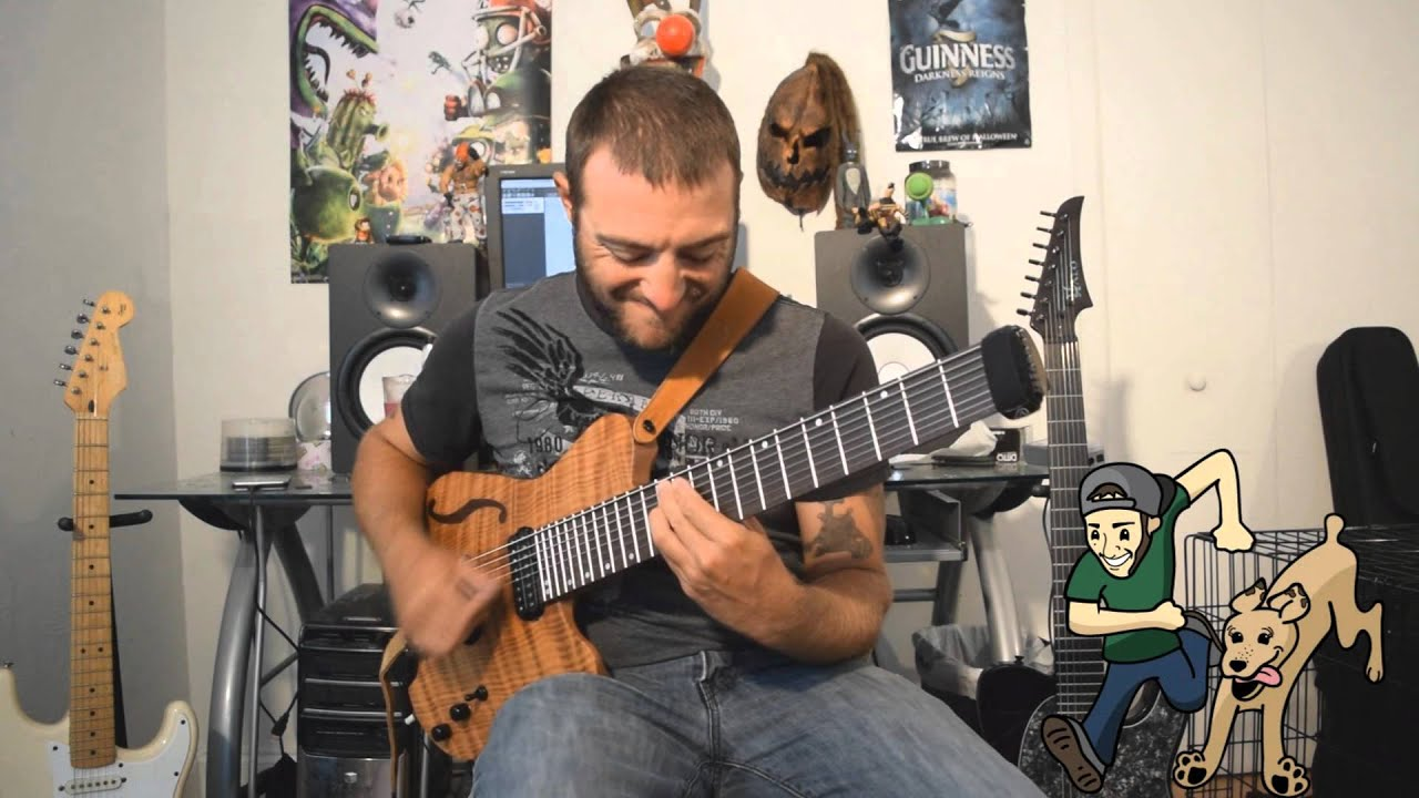Tearing Up My Heart by NSync 8 string chord melody - Dean Murphy