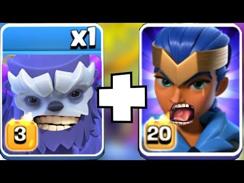 NEW HERO W/ YETi Troop! | Clash Of Clans | NO ONE Is SAFE!!