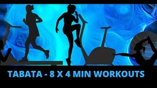 Tabata Workout Music - 8 x 4 min (20/10) Workouts - VOICE GUIDED