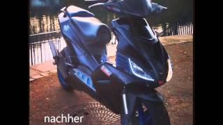 Aprilia Sr50 Factory Blackdevil tuning story