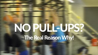Can't Do Pull Ups? (The Real Reason Why)