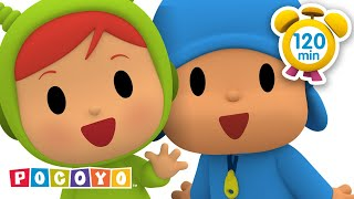 🎡 POCOYO in ENGLISH - The Amusement Park [ 120 minutes ] | CARTOONS for Children