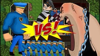 Robbery Bob: Man Of Steal !! FUNNY MOMENTS ! THIEF VS 9 POLICES ?