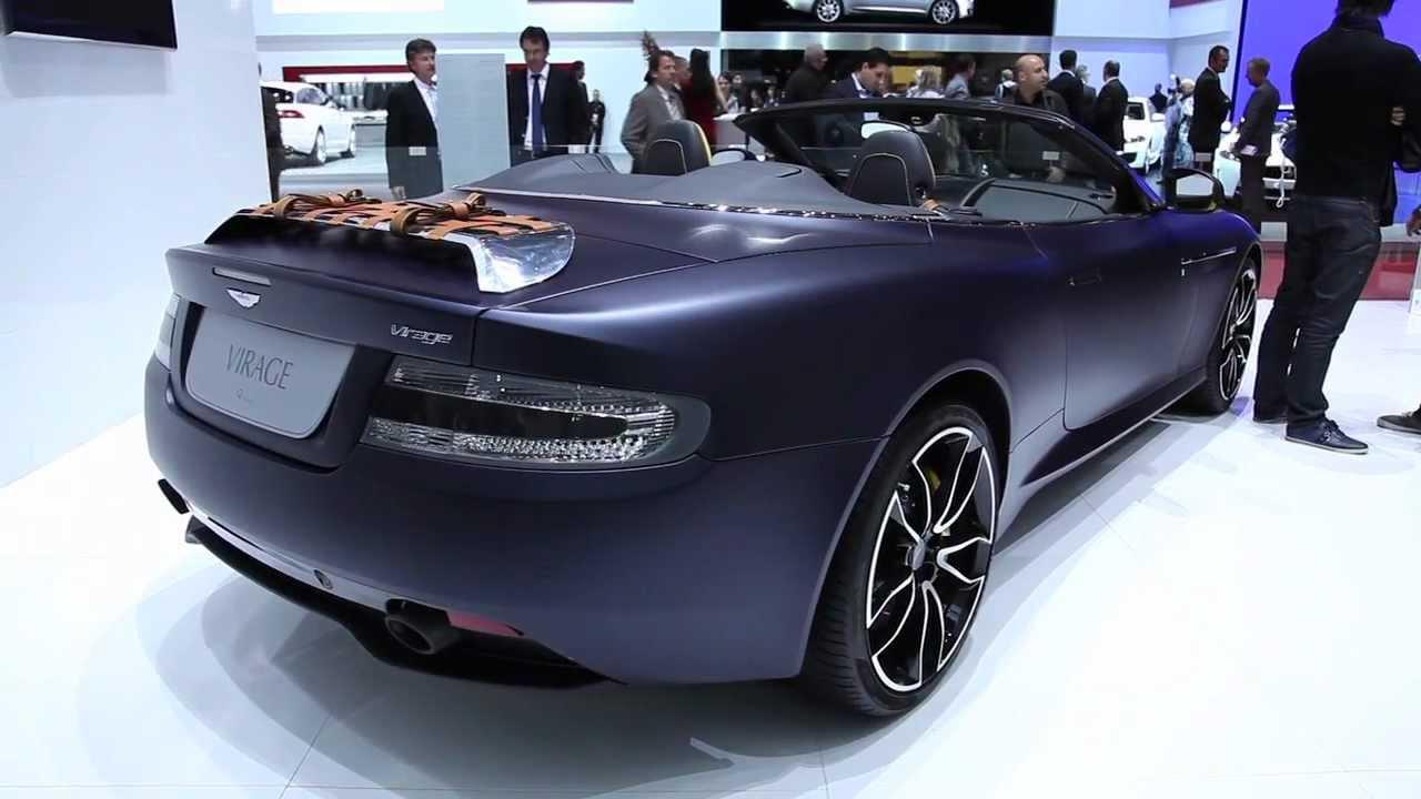 2013 Aston Martin Virage Volante Q 2012 Geneva Motor Show Youtube